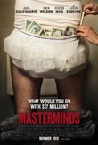 Masterminds DVD Release Date