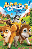 Alpha and Omega 3: The Great Wolf Games DVD Release Date
