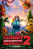 Cloudy with a Chance of Meatballs 2 [Two-Disc Combo: Blu-ray 3D / DVD + UltraViolet Digital Copy] DVD Release Date