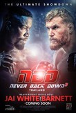 Never Back Down 3 No Surrender DVD Release Date