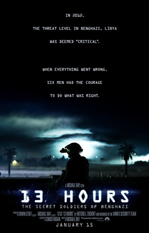 13 Hours: The Secret Soldiers of Benghazi (2016) DVD Release Date