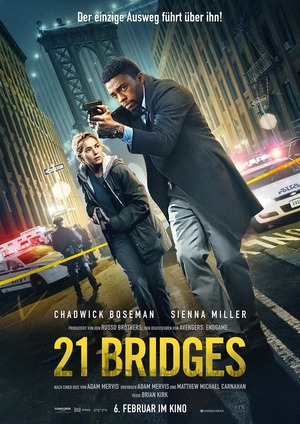 21 Bridges (2019) DVD Release Date
