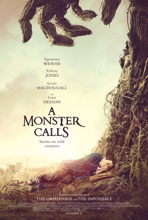 A Monster Calls (2016) DVD Release Date