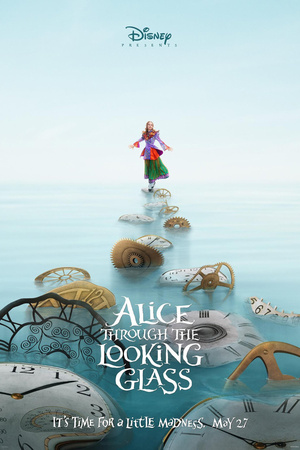 Alice Through the Looking Glass (2016) DVD Release Date
