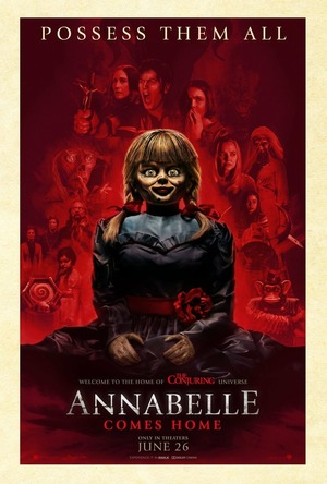 Annabelle Comes Home (2019) DVD Release Date