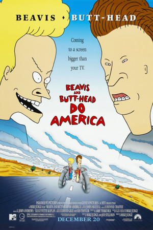 Beavis and Butt-Head Do America (1996) DVD Release Date