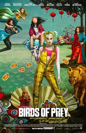 Birds of Prey: And the Fantabulous Emancipation of One Harley Quinn (2020) DVD Release Date