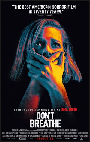 Don't Breathe (2016) DVD Release Date
