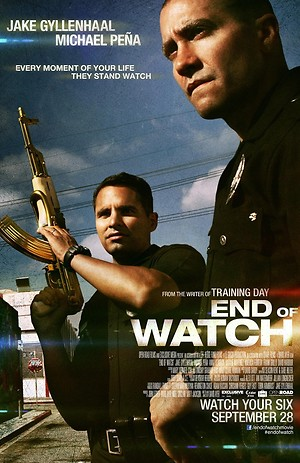 End of Watch (2012) DVD Release Date