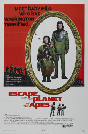 Escape from the Planet of the Apes (1971) DVD Release Date