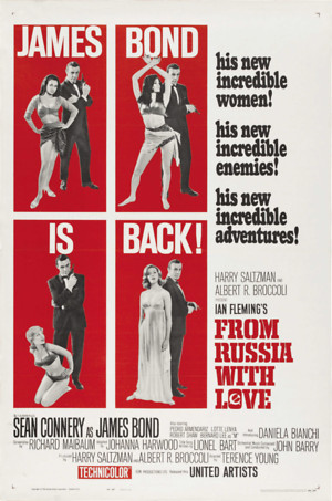 From Russia with Love (1963) DVD Release Date