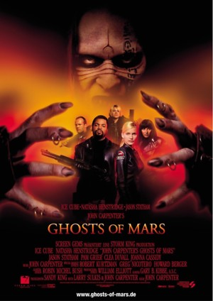 Ghosts of Mars (2001) DVD Release Date