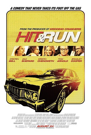 Hit and Run (2012) DVD Release Date