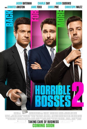 Horrible Bosses 2 (2014) DVD Release Date