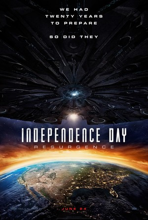 Independence Day: Resurgence (2016) DVD Release Date