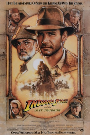 Indiana Jones and the Last Crusade (1989) DVD Release Date