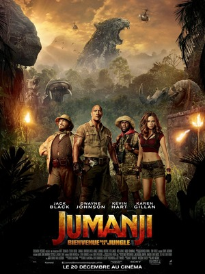 Jumanji: Welcome to the Jungle (2017) DVD Release Date