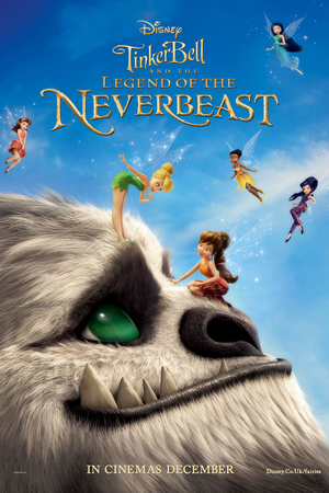 Tinker Bell and the Legend of the NeverBeast (Video 2014) DVD Release Date