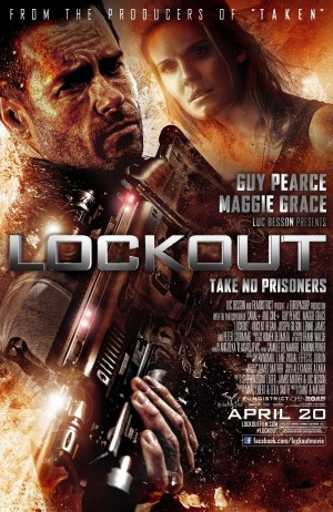 Lockout (2012) DVD Release Date