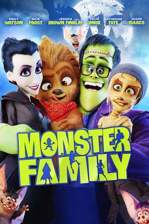 Monster Family (2017) DVD Release Date