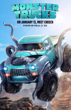 Monster Trucks (2016) DVD Release Date