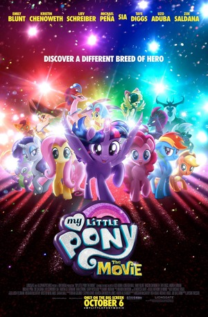 My Little Pony: The Movie (2017) DVD Release Date