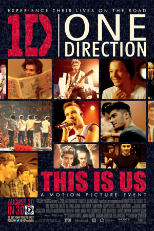 One Direction: This Is Us (2013) DVD Release Date