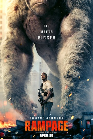 Rampage (2018) DVD Release Date