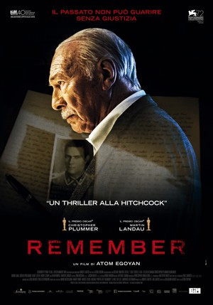 Remember (2015) DVD Release Date