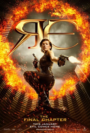 Resident Evil: The Final Chapter (2016) DVD Release Date