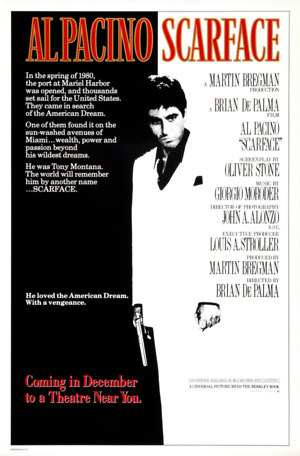 Scarface (1983) DVD Release Date
