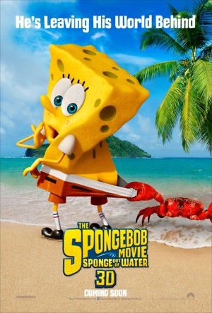 SpongeBob SquarePants 2 Sponge Out of Water DVD Release Date