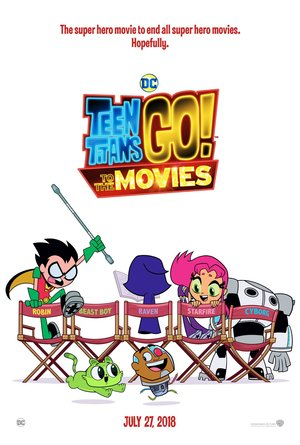 Teen Titans Go! To the Movies (2018) DVD Release Date
