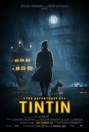 The Adventures of Tintin (2011) DVD Release Date