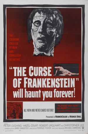 The Curse of Frankenstein (1957) DVD Release Date