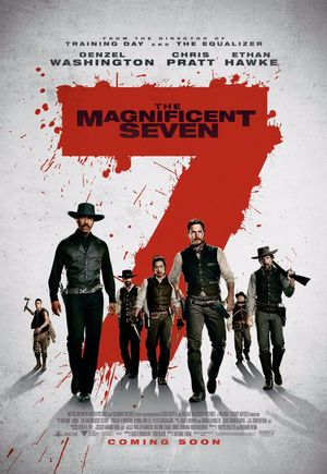 The Magnificent Seven (2016) DVD Release Date