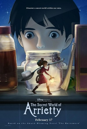 The Secret World of Arrietty (2010) DVD Release Date