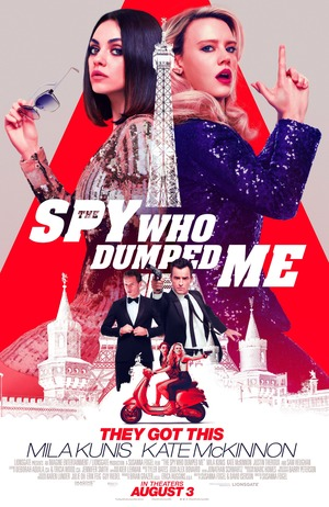 The Spy Who Dumped Me (2018) DVD Release Date