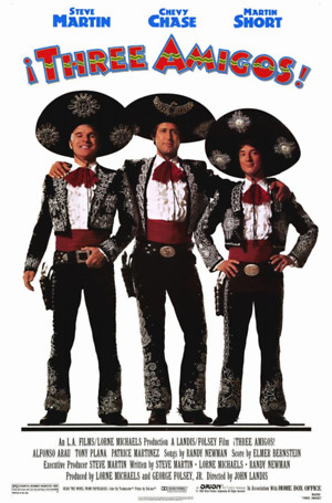 Three Amigos! (1986) DVD Release Date