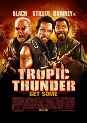 Tropic Thunder (2008) DVD Release Date
