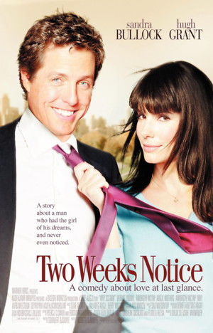 Two Weeks Notice (2002) DVD Release Date