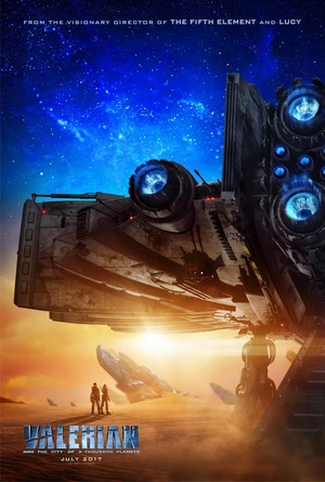 Valerian and the City of a Thousand Planets (2017) DVD Release Date