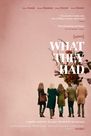 What They Had (2018) DVD Release Date