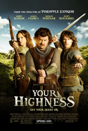 Your Highness (2011) DVD Release Date